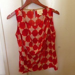Maeve silk shirt size 2